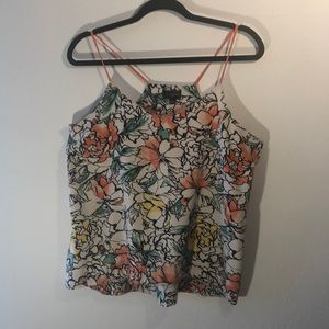 The Limited flower swing tank